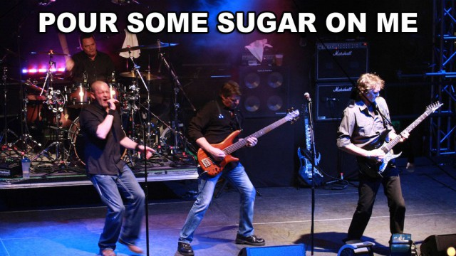 Pour Some Sugar On Me Live At The Knitting Factory | The